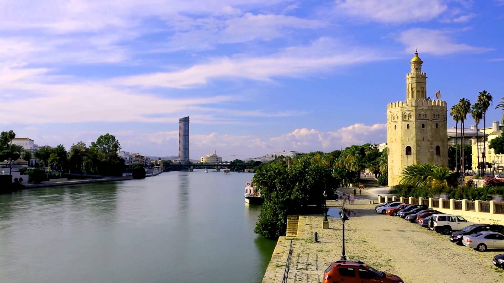 Sevilla en barco