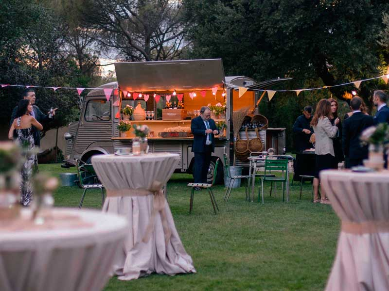 Food Trucks en tu boda