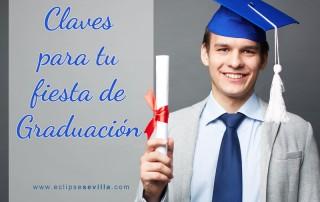 Fiesta de graduación en Sevilla