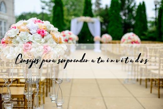 consejos para invitados de boda