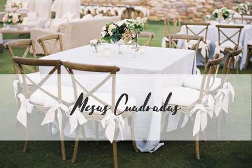mesas para bodas