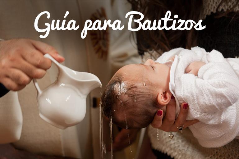 Cómo preparar un bautizo
