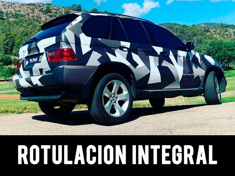 rotulación integral de vehículos