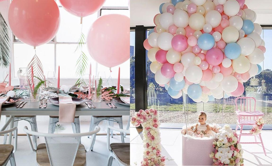 Decoraci n con globos eclipse eventos sevilla - Tipos de decoracion ...