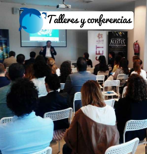 Talleres y conferencias y eventos en el Acuario de Sevilla