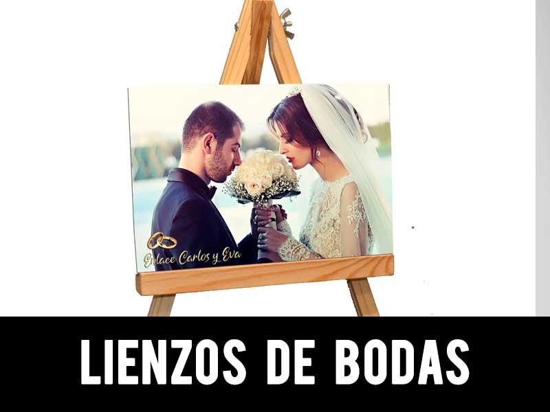 lienzo de bodas