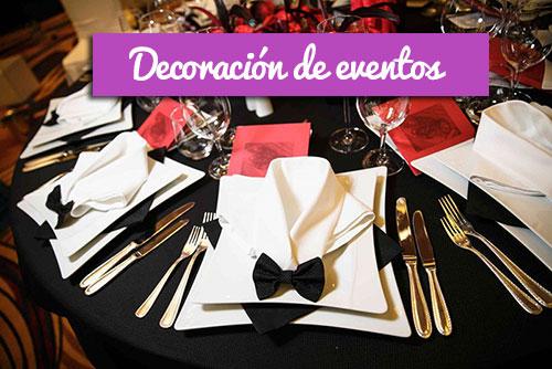 ambientación y decoración para eventos de empresa