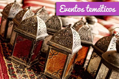 farolillos ambientación y decoración para eventos