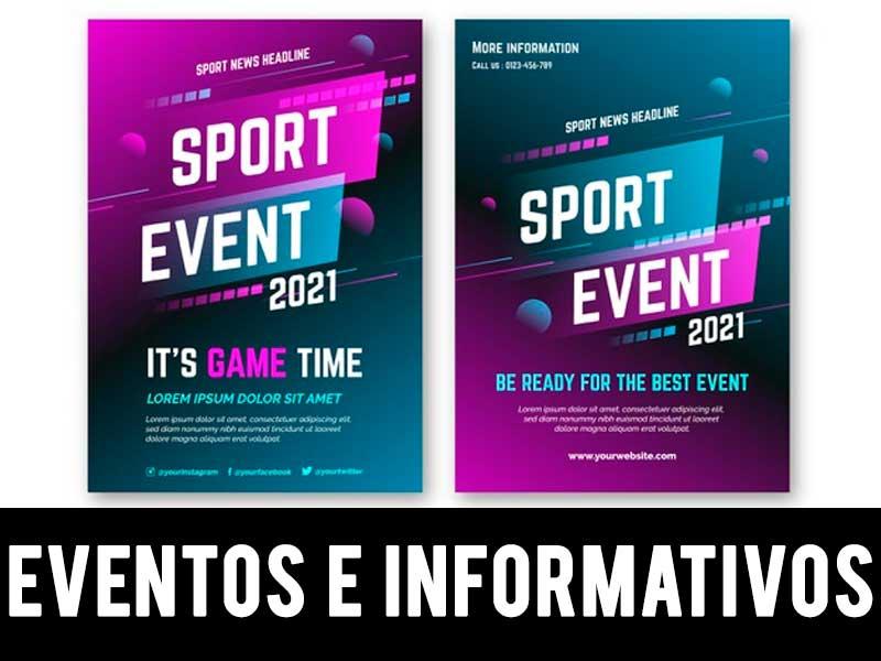 carteles de eventos