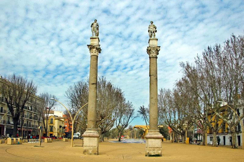 columnas de hercules sevilla