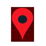 icono pin localización para empresas