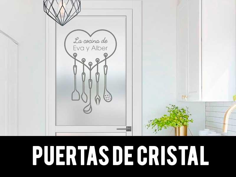 Vinilos para puertas de cristal