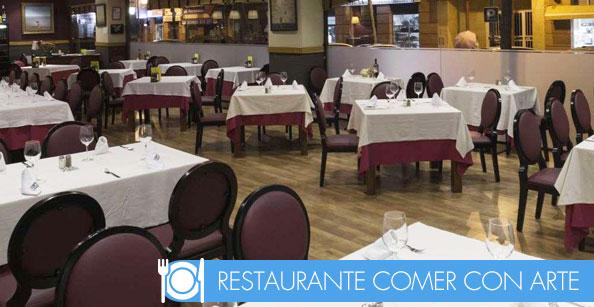 Restaurante comer con arte Sevilla, cena de empresa en sevilla