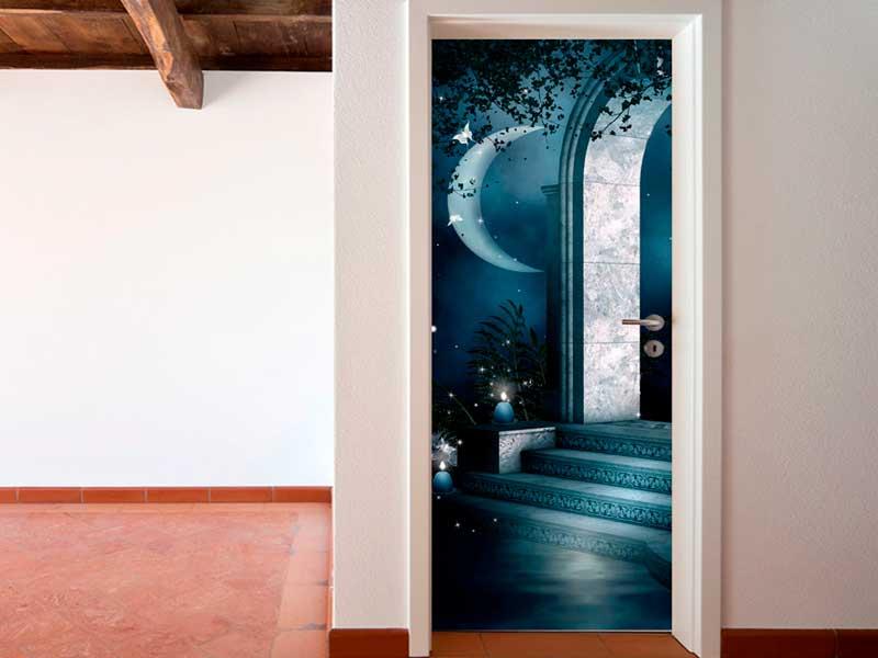 vinilos decorativos para puertas originales