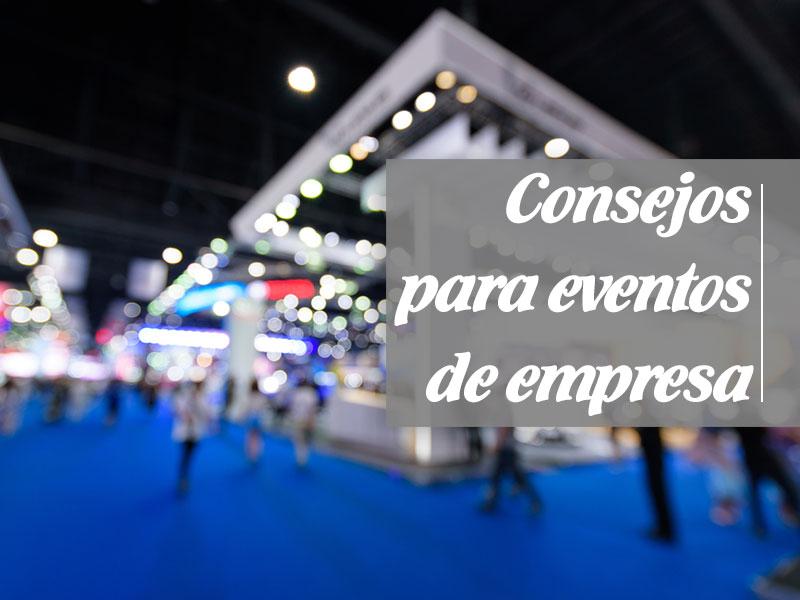 Consejos para eventos de empresa imagen destacada