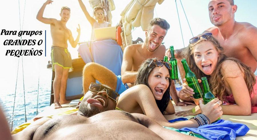 para grupos grandes galeria fiestas de despedida en barco
