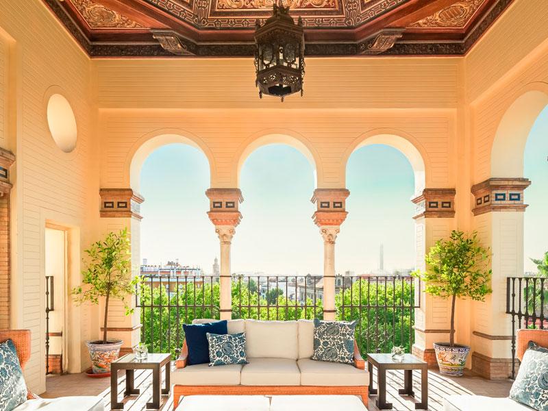 hotel-alfonso-XIII terrazas de sevill
