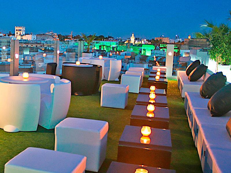 hotel-inglaterra terraza de sevilla