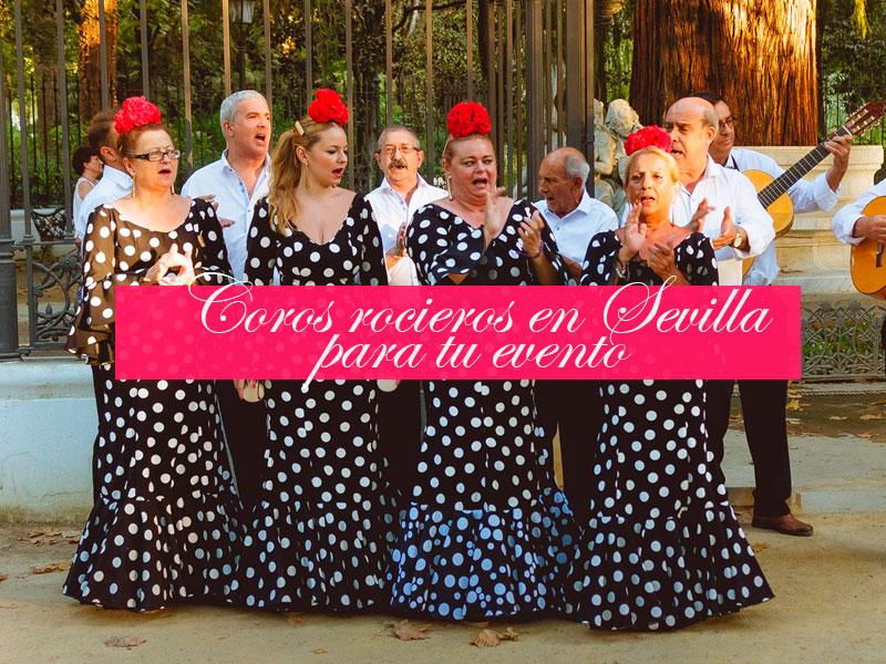 Coros rocieros en Sevilla