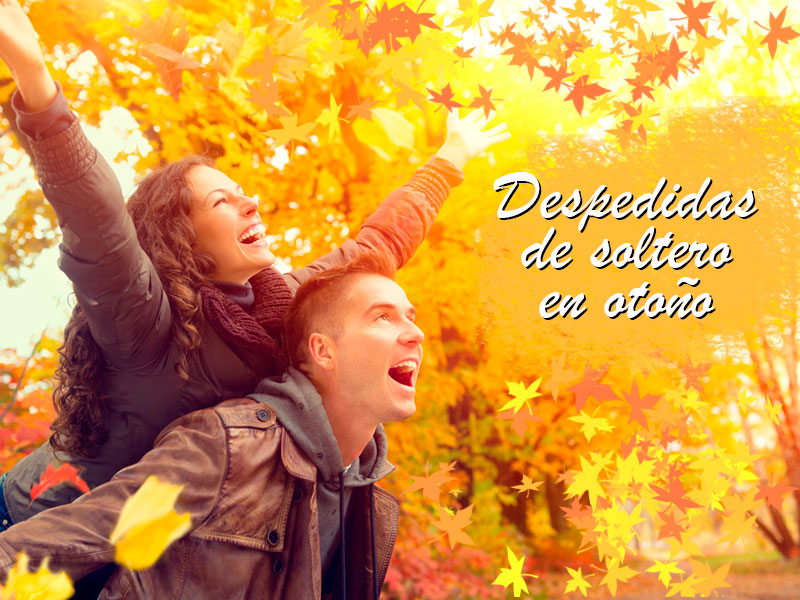 despedidas de soltero en otoño