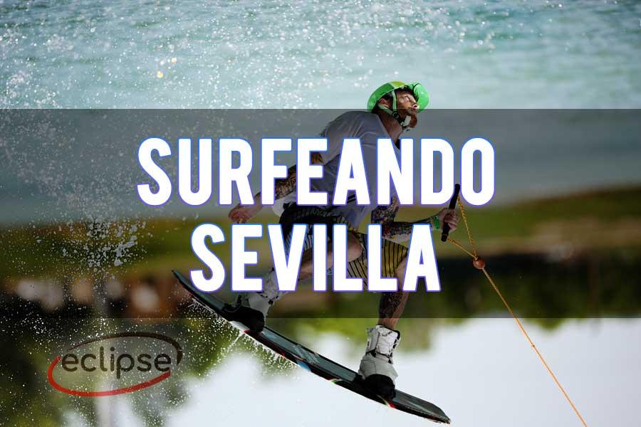 Despedida de soltero surfeando Sevilla