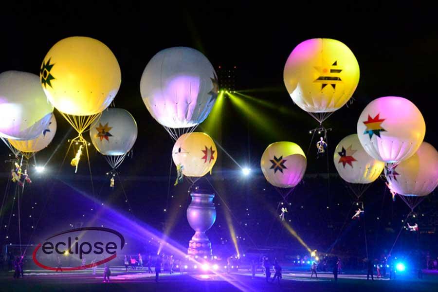 esferas de helio