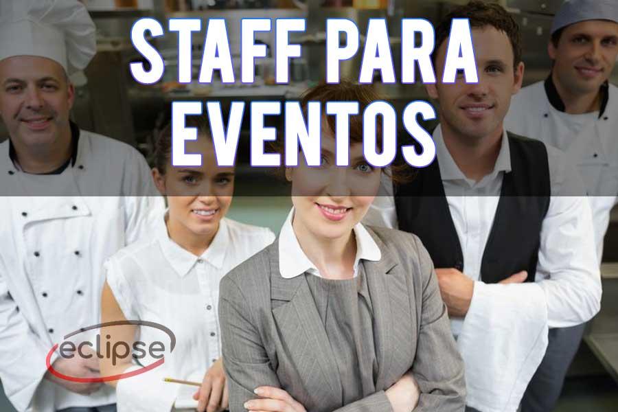 Staff para eventos