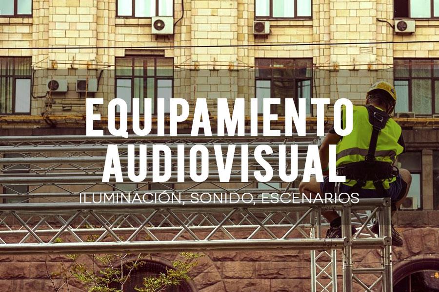 Alta proveedores audiovisuales
