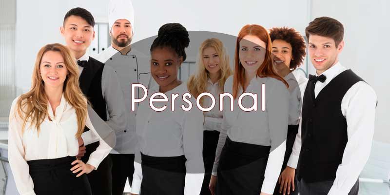personal para eventos de empresa