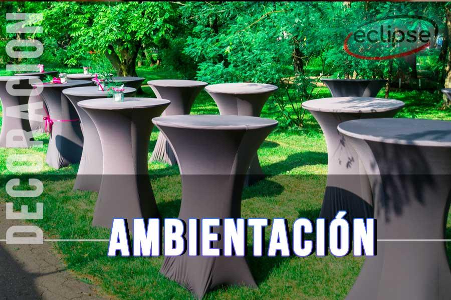 Ambientacion y decoración para eventos de empresa